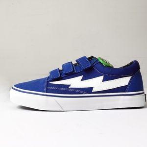 Revenge x Storm Shoes - REVENGE X STORM Ian Conner vans blue velcro shoe 9 eee9c3150